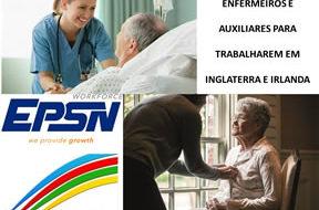 Enfermeiros para Inglaterra e Irlanda